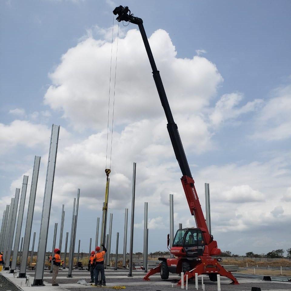 Alquiler de equipos de construcción en Panamá