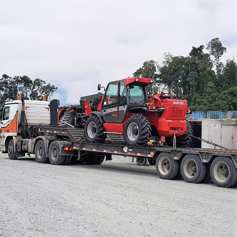 Venta de maquinaria Manitou en Panamá