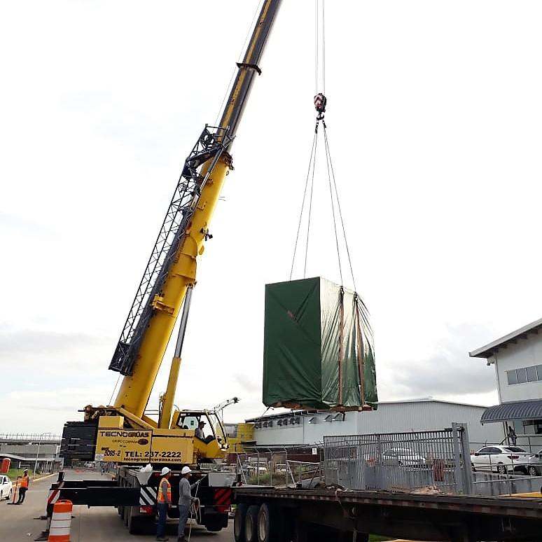 Empresa de equipo pesado en Panamá